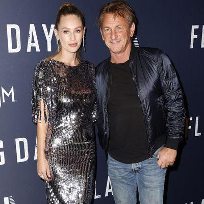 Dylan Penn and Sean Penn