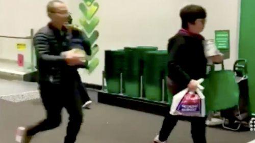 Shoppers bulk-buying baby formula has angered parents.