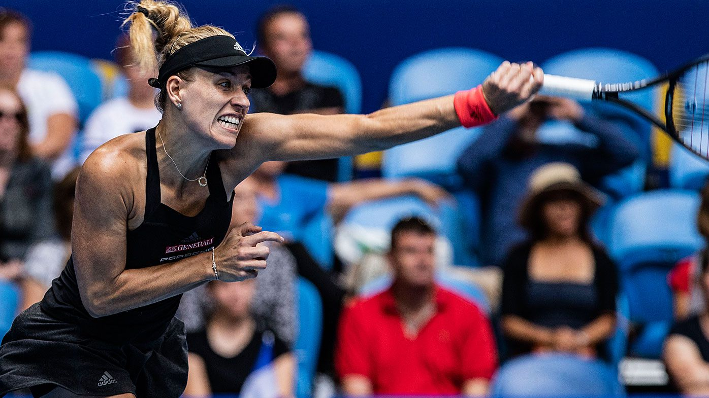 Angelique Kerber leads Germany past France in Hopman Cup