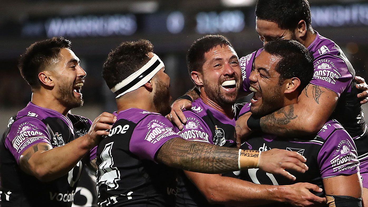 Warriors eye NRL finals after win over Newcastle Knights