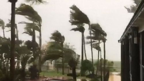 Winds of more than 130km/h are expected. (9NEWS)