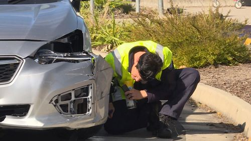 A 86-year-old driver has been charged over the incident. Picture: 9NEWS