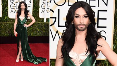 Eurovision winner Conchita Wurst. (AAP)