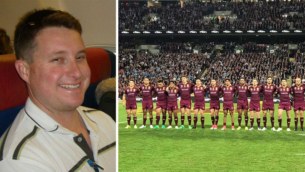 State of Origin pauses for a minute in memory of fallen police officer Brett Forte
