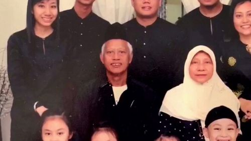 The family of a grandfather allegedly killed by a flying wine bottle in Singapore fears he was targeted because of his Muslim religion.