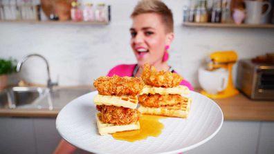 Jane de Graaff has a secret for her crunchy fried chicken