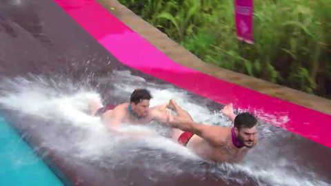 Survivor's Locky goes nude for the challenge