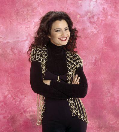 Fran Drescher as Fran Fine: Then