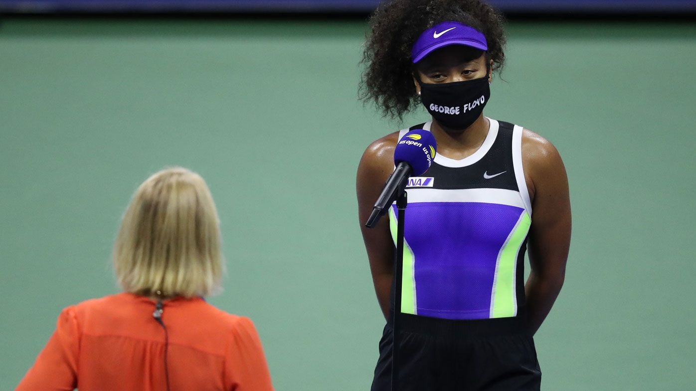 Aussie tennis great Rennae Stubbs caught up in Naomi Osaka interview blunder