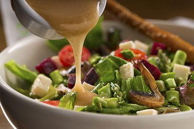 Swap salad dressings (542 calories/100g)…