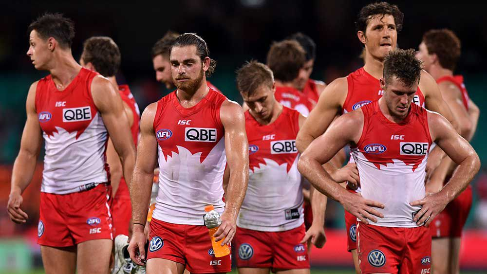 Buddy's milestone buried under Swans loss