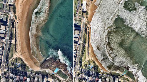 Dee Why Beach. (Nearmap)