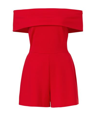 "<p><a href=""http://www.sportsgirl.com.au/clothing/shorts/arabella-playsuit-red"" target=""_blank"">Sportsgirl Arabella Playsuit, $79.95.</a></p> <p>Not for lawyers or bankers perhaps but perfect for the tech and media crowd. And skip the white - an outfit like this should be bold, bold, bold.</p>"