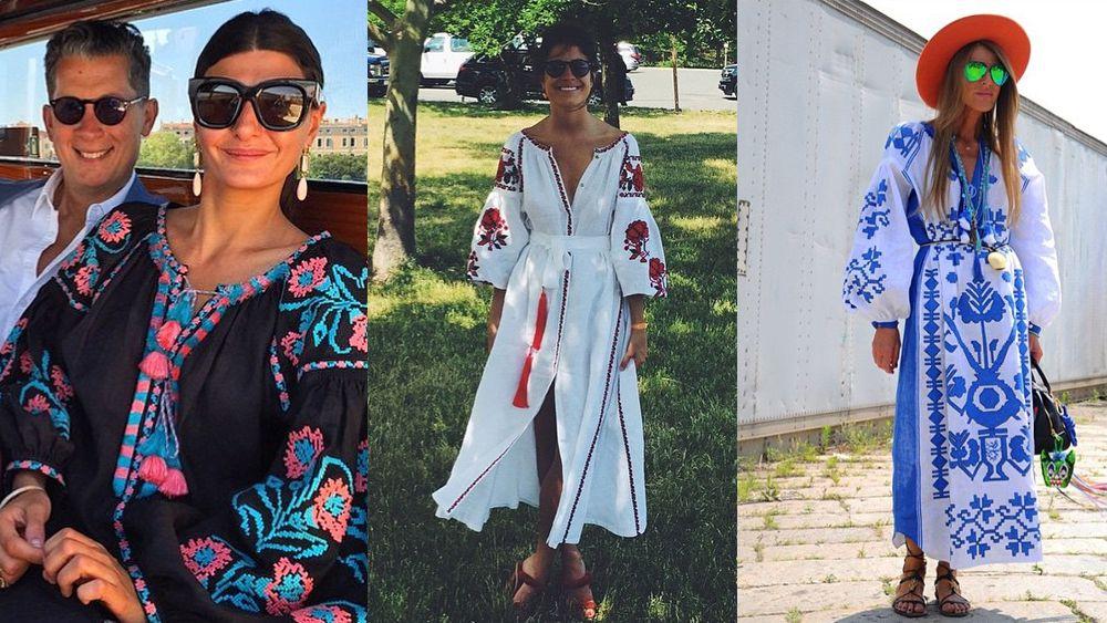 Three's a trend: Ukrainian National Dress