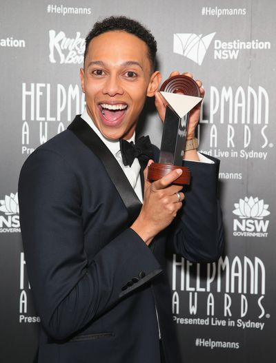 Helpmann Award winner Callum Francis from Kinky Boots