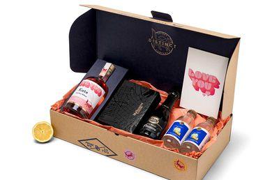 Distinct Drinks Love Pink Gin Pack, $140