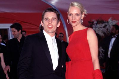 Ethan and Uma met while filming <i>Gattaca</i> in 1996 and were in the height of their seven year marriage run, when they attended their first Oscars together.