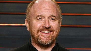 Louis C.K. arrives at the Vanity Fair Oscar Party in Beverly Hills on February 28, 2016. (AAP)