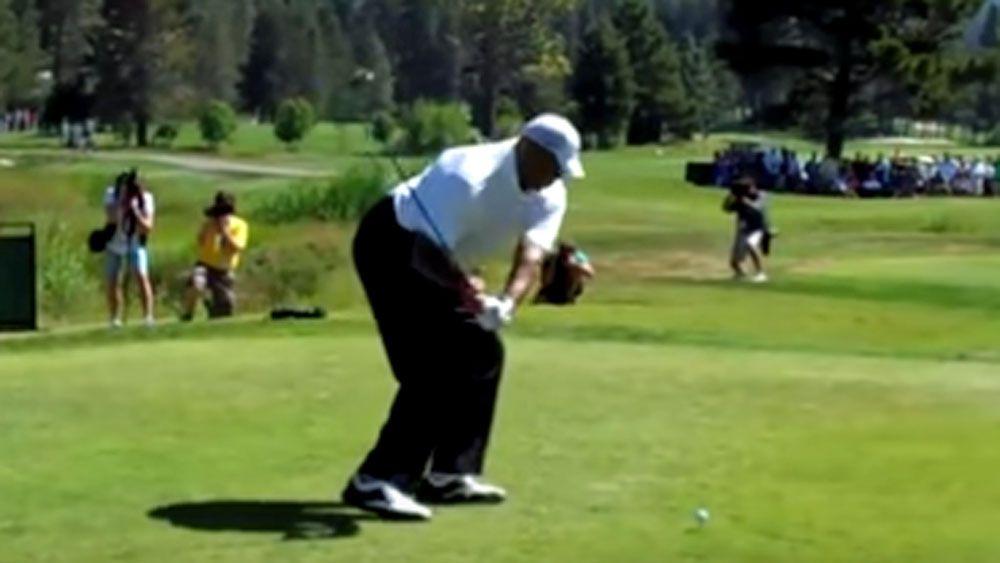 NBA great Barkley explains his 'terrible'golf swing