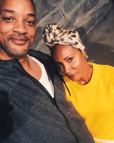 Will Smith, Jada Pinkett Smith, selfie, Instagram