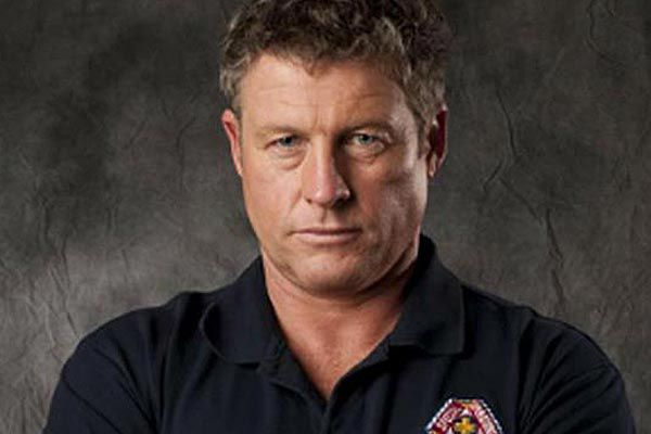Australian actor Peter Phelps in a 2009 press photo for his <i>Rescue: Special Ops</i> role.