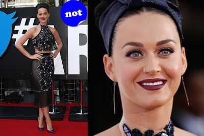 Katy Perry's much hyped red carpet appearance at the ARIAs was very underwhelming.
