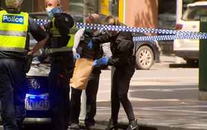 Man dies in hospital after being stabbed in Melbourne CBD, two people speaking with police
