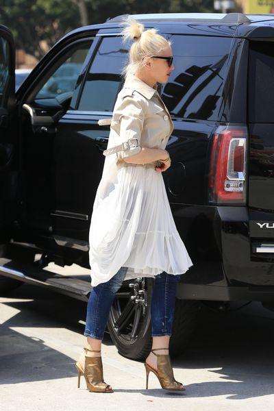 Gwen Stefani's Toddler-taming Top Knot