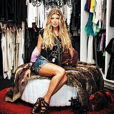 Singer Fergie