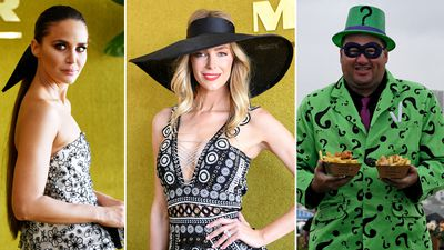 Fashions: Stars flock to grey Derby Day