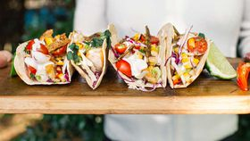 Barramundi fish taco recipe
