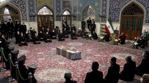 Funeral for Mohsen Fakhrizadeh