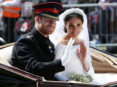 Meghan Harry wedding one year on