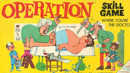 Operation is one of the most popular board games of all time.