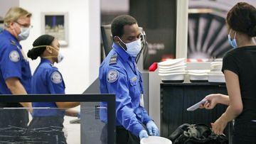 Airport security is being beefened up for inauguration day.