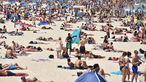 Beaches around the country are expected to be packed with revelers cooling down and reflecting on the past 12 months.
