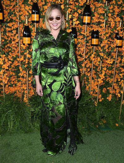 Abbie Cornish arrives at the 9th Annual Veuve Clicquot Polo Classic event in Los Angeles, October 6, 2018