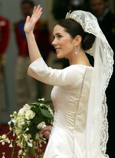 Crown Princess Mary of Denmark's wedding tiara
