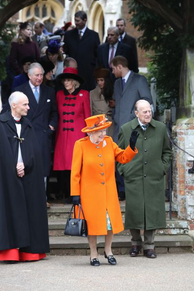 Prince Harry Meghan Markle Christmas Queen