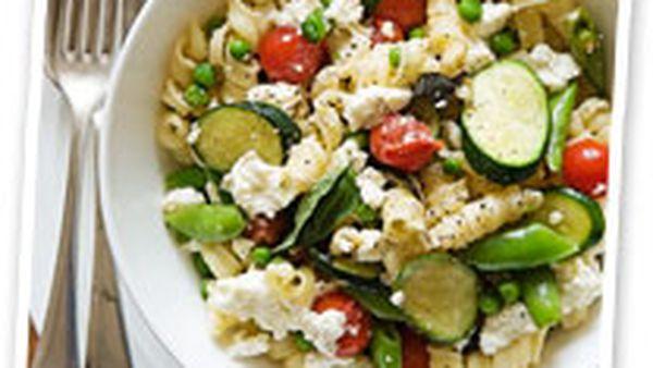 Spring vegie pasta