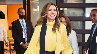 Queen Rania of Jordan hits the right style notes
