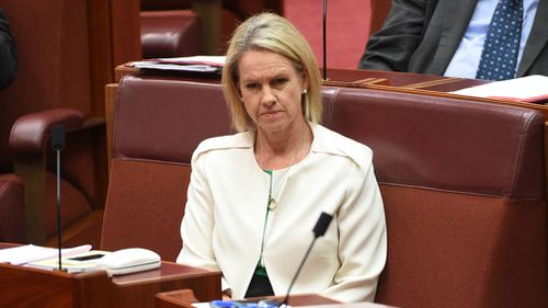 Fiona Nash has told the Senate she is a British citizen. (AAP)