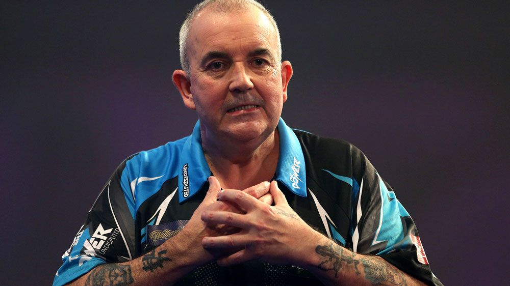 Phil Taylor. (AAP)