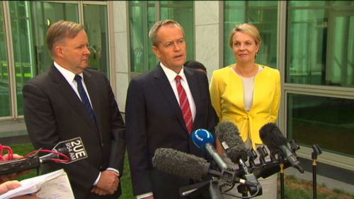 Labor emphatically denies any rift between the former leadership contestant and the man who defeated him, Bill Shorten. Picture: 9NEWS