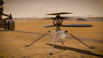 The flight mission of NASA's Ingenuity Mars Helicopter will take place in April.