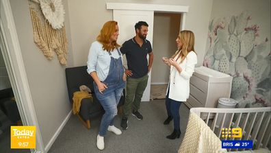 MAFS stars Jules and Cam show off their baby's gender neutral nursery