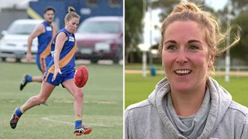 190604 South Australian football club fined woman playing men's league news sport SPLIT