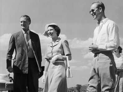 3rd February 1952:  Princess Elizabeth and the Duke of Edinburgh attend a polo match at Nyeri in Kenya