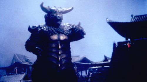 A scene from the North Korean monster movie 'Pulgasari'.