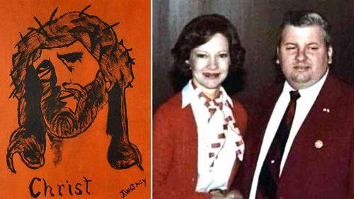 Clown killer' John Wayne Gacy's paintings go up for auction